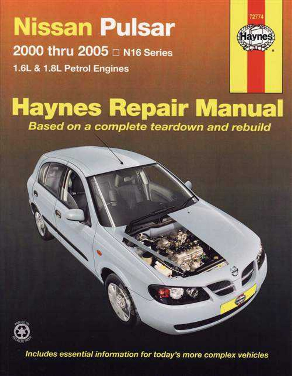 1996 nissan pulsar workshop manual