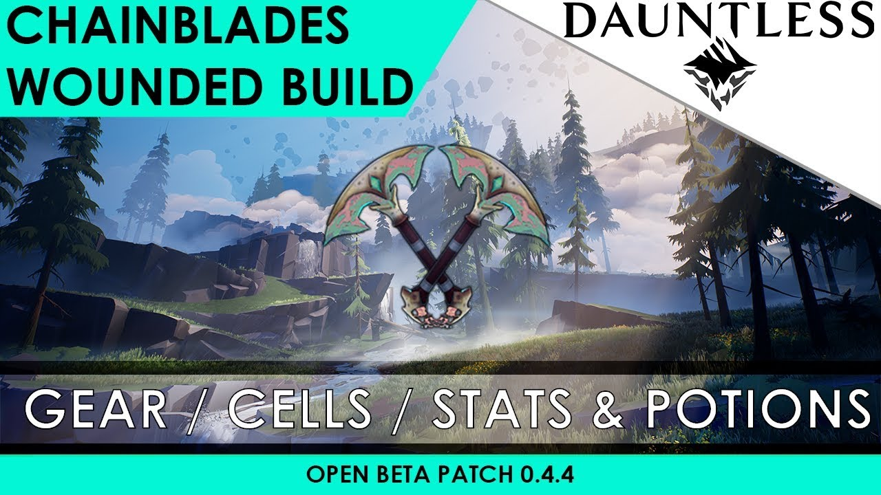 dauntless chain blades dodge guide