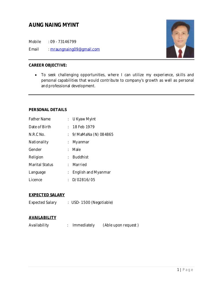 can you submit a cv in pdf form