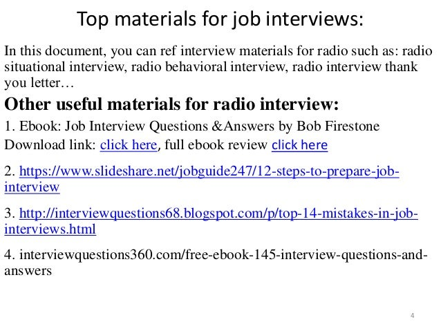 behavioural interview questions and answers pdf