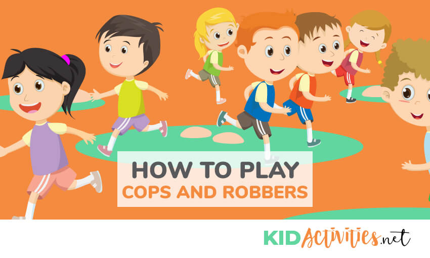 cops and robbers game instructions