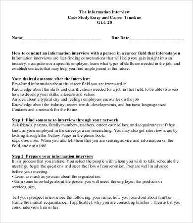 case interview examples pdf
