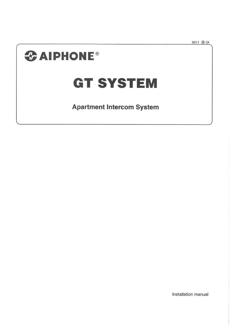 aiphone jp 4med installation manual