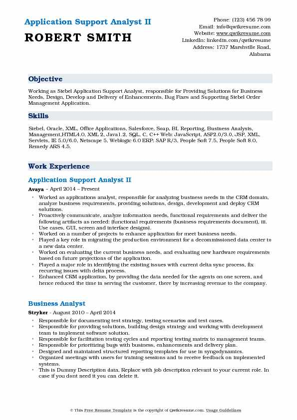 application delivery analyst