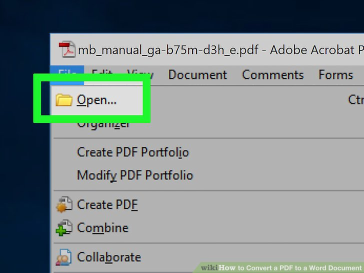 changing pdf version in acrobat